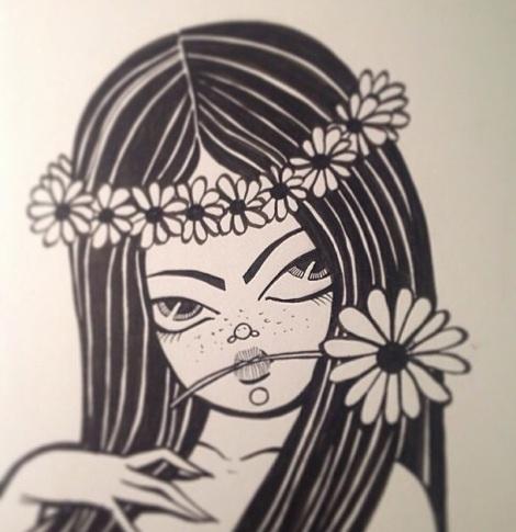 Flower Power Ballerina