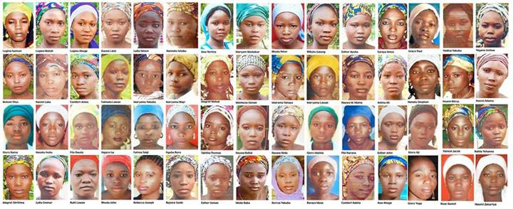 #BringBackOurGirls  100 days later
